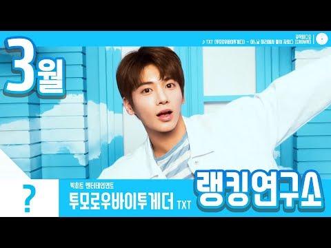 [랭킹연구소] 2019년 3월 보이그룹 순위 (남자아이돌 브랜드) | K-POP IDOL Boy Group Chart (March Brand)