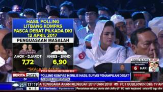Video Polling Debat Pilkada DKI Putaran Dua: Ahok-Djarot Unggul download MP3, 3GP, MP4, WEBM, AVI, FLV November 2017