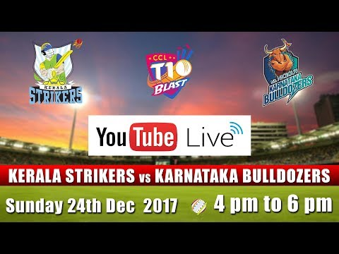 CCL T10 Blast Match I Kerala Strikers VS Karnataka Bulldozers I Dec 24th