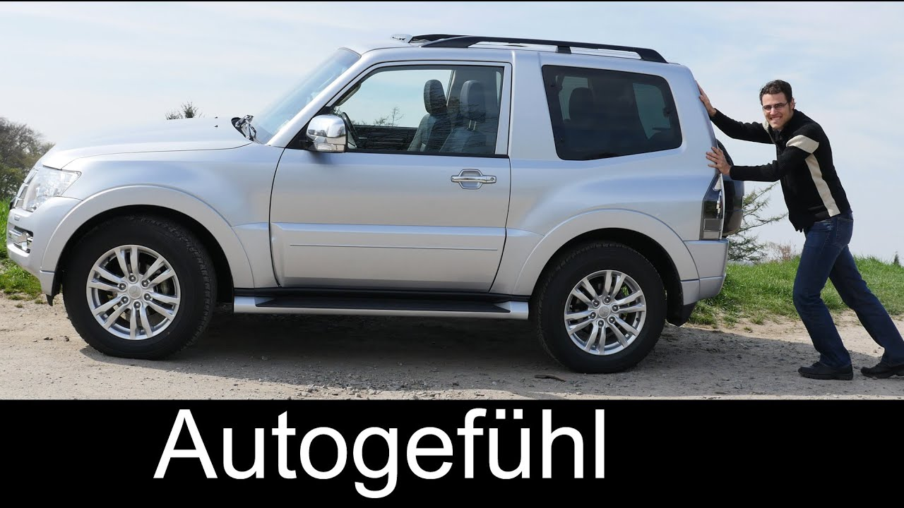 Mitsubishi pajero montero 3 door compact full review test driven autogefühl