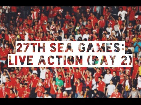 27th SEA Games: Daily action (Day 2)