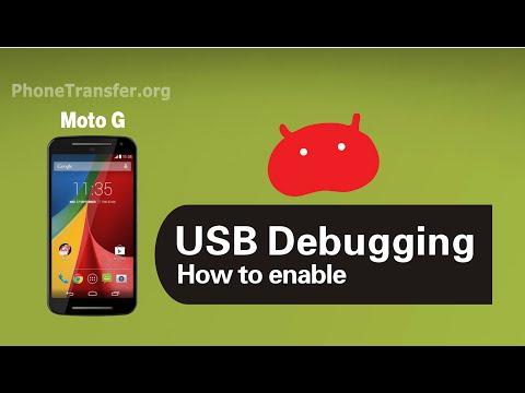 How to Enable USB Debugging Mode on Moto G (2nd Gen.), Enable Moto G 2014 Developer Option