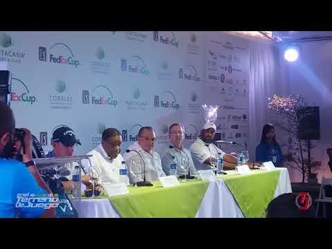 Danilo Díaz rueda de prensa  PGA Tour
