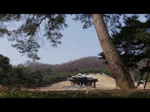 [라이프스타일리TV] ASMR, 숭릉, 명상, 물소리, 새소리, sunrise, nature sound, relaxing, meditation
