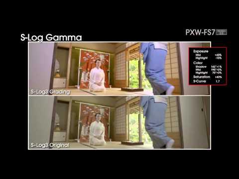 Sony PXW FS7 4K Super 35mm Exmor CMOS sensor XDCAM camera FUNCTIONAL Video V2.0