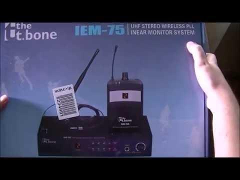 déballage et test du the t.bone IEM 75 !