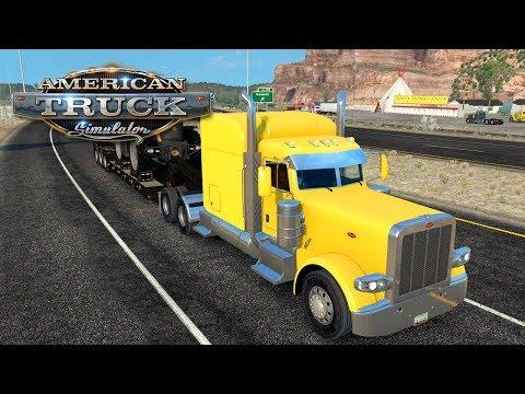 American Truck Simulator (Hard Economy) #27 - JCB FASTRAC 8310 TO GALLUP | Tuesday Week 4