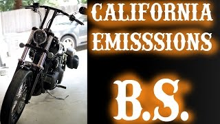 How to Remove the California Emissions B.S. from your Harley Davidson for $5.00!!