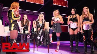 """The IIconics and Lacey Evans crash """"A Moment of Bliss"""": Raw, May 20, 2019"""