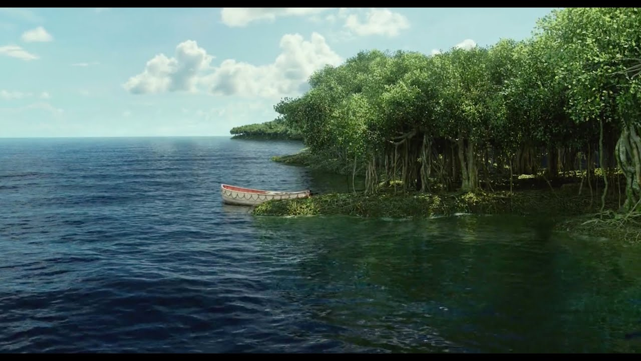 Life of pi carnivorous island images for Life of pi characterization