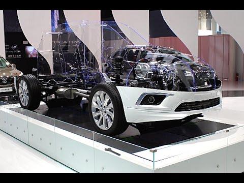 Shanghai General Motors - Concept, Design&Build Buick Envision driveline