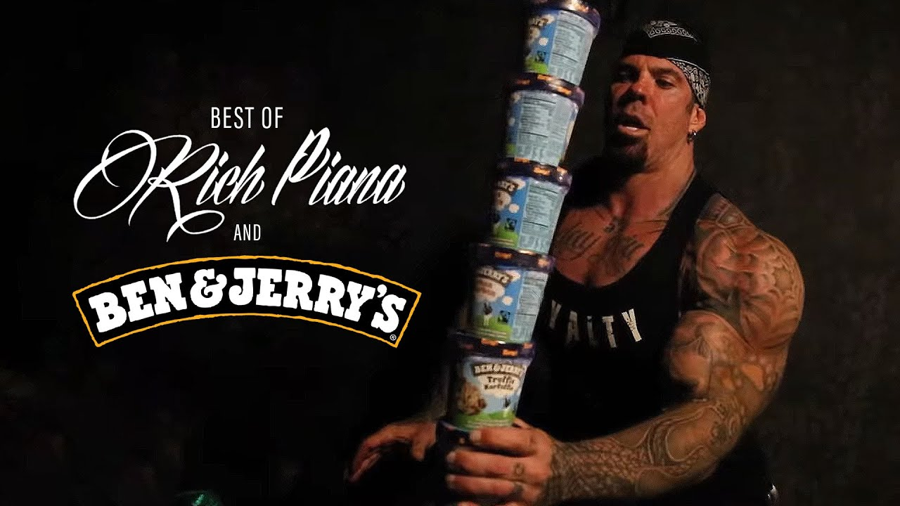 BEST OF: Rich Piana and Ben & Jerry's