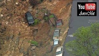 Massive Landslide In Baltimore, Maryland, USA Incredible Disaster