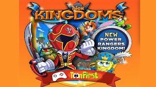 Nickelodeon Kingdoms - Power Rangers Super Megaforce Kingdom Challenge Mode Walkthrough - Nick Games