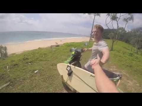 Sumatra surfing adventures in Banda Aceh, Lhoknga