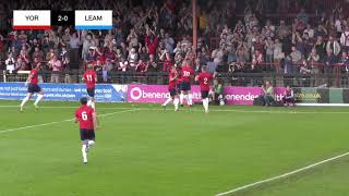 York City 2-0 Leamington | Matchday Highlights