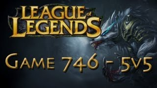 LoL Game 746 5v5 Warwick