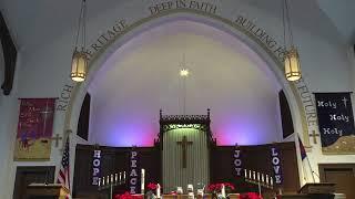 Sunday Worship Service - December 27, 2020