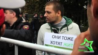 акция зоозащитников на курбан байрам в москве 24 09 2015