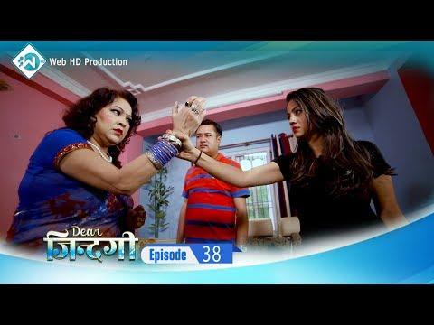 सुनिल थापा घरमा नहुदा श्रीमती र बुहारीको कुटाकुट Megha Series 'Dear Jindagi'  Episode 38