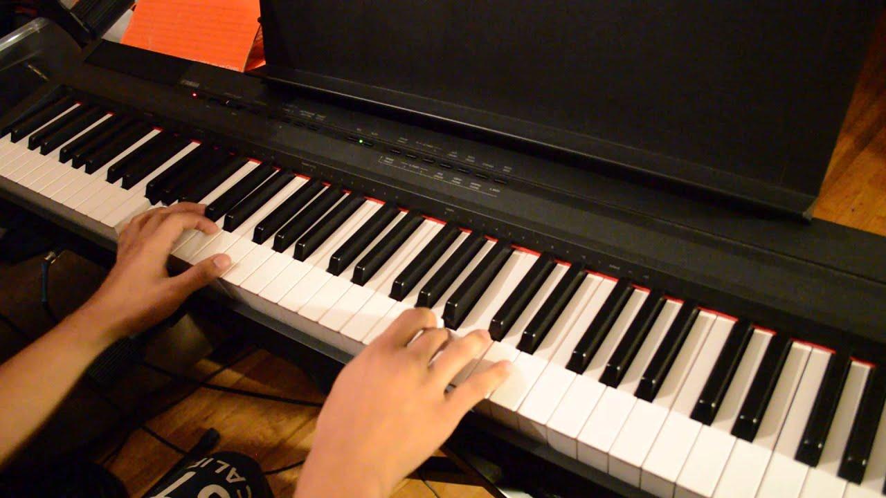 Melodia en el Piano el senor es mi rey/fuego de dios/cr