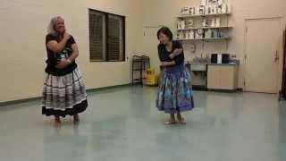 Hula dance- mele ohana
