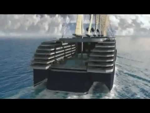 Cruise Ship Powered By Wind And Solar Energy 2015 2020