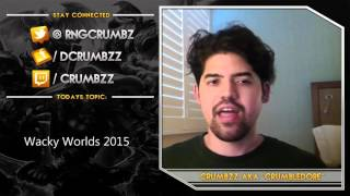 Wacky Worlds 2015 and Why It