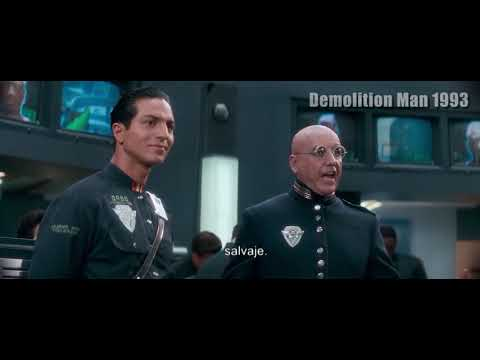 Bitcoin vs Transaction Code  Currency system - Demolition Man 1993 - prophecy -