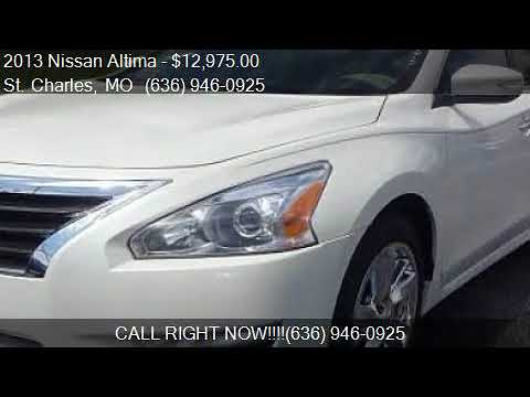 2013 Nissan Altima For Sale In St. Charles, MO 63301 At Aut