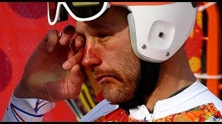 Heartless NBC Reporter Makes Bode Miller CRY (RAW FOOTAGE)