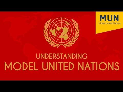 1. Understanding Model United Nations [Skill Development]