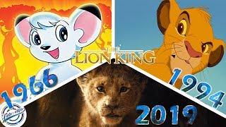 The Lion King (1966 vs 1994 vs 2019)  Comparison SHOT BY SHOT Video