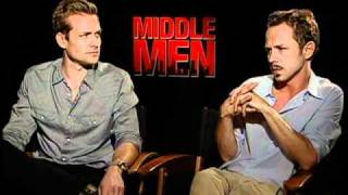 Gabriel Macht and Giovanni Ribisi play cokehead porn kings in Middle Men
