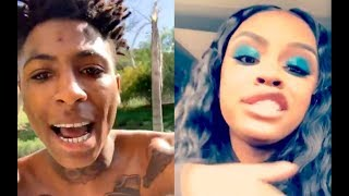 """NBA YOUNGBOY disses Mayweather's Daughter AFTER his TIRES get SLASHED, says """"you OLD inherited ass"""""""