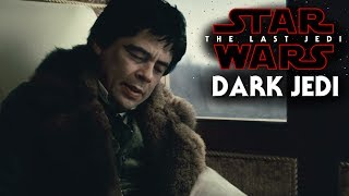 Star Wars The Last Jedi - Dark Jedi Man In Black (Benicio Del Toro)