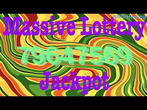 Massive Lottery Jackpot Manifestation (short) / Sacred Number  79647569