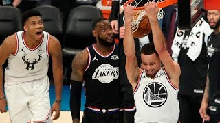 Steph Curry shocks the crowd with bounce pass to himself & 180-Degree Dunk | 2019 NBA All-Star Game