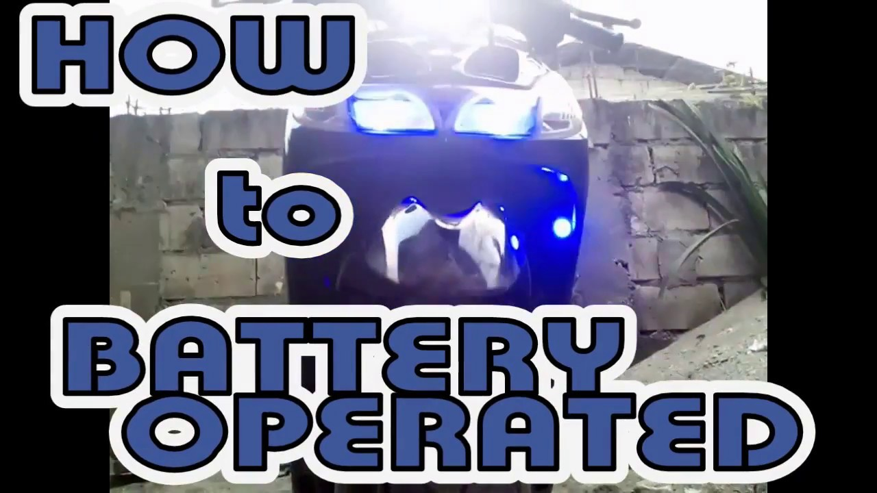 how to battery operated mio sporty [ 1280 x 720 Pixel ]