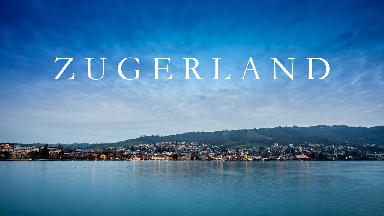 Die Stadt Zug und der Zugersee im Zeitraffer - YouTube