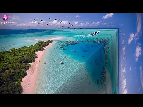 3D Ocean Effect - Photo Manipulation  Explain Tutorial - Photoshop Hindi Explain thumbnail