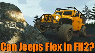 Forza Horizon 2 | Can Jeeps Flex In Forza?