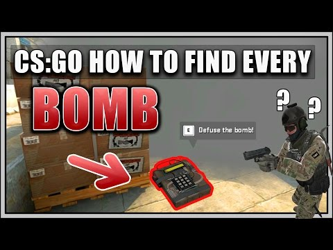 ▶[CS:GO] How To Find EVERY BOMB In SMOKES On BOMBSPOT & Ninja Defuse [ENG] 💣