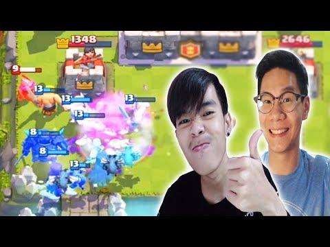 2 YOUTUBER CR INDONESIA TERAKTIF KOLAB BARENG! - Clash Royale Indonesia