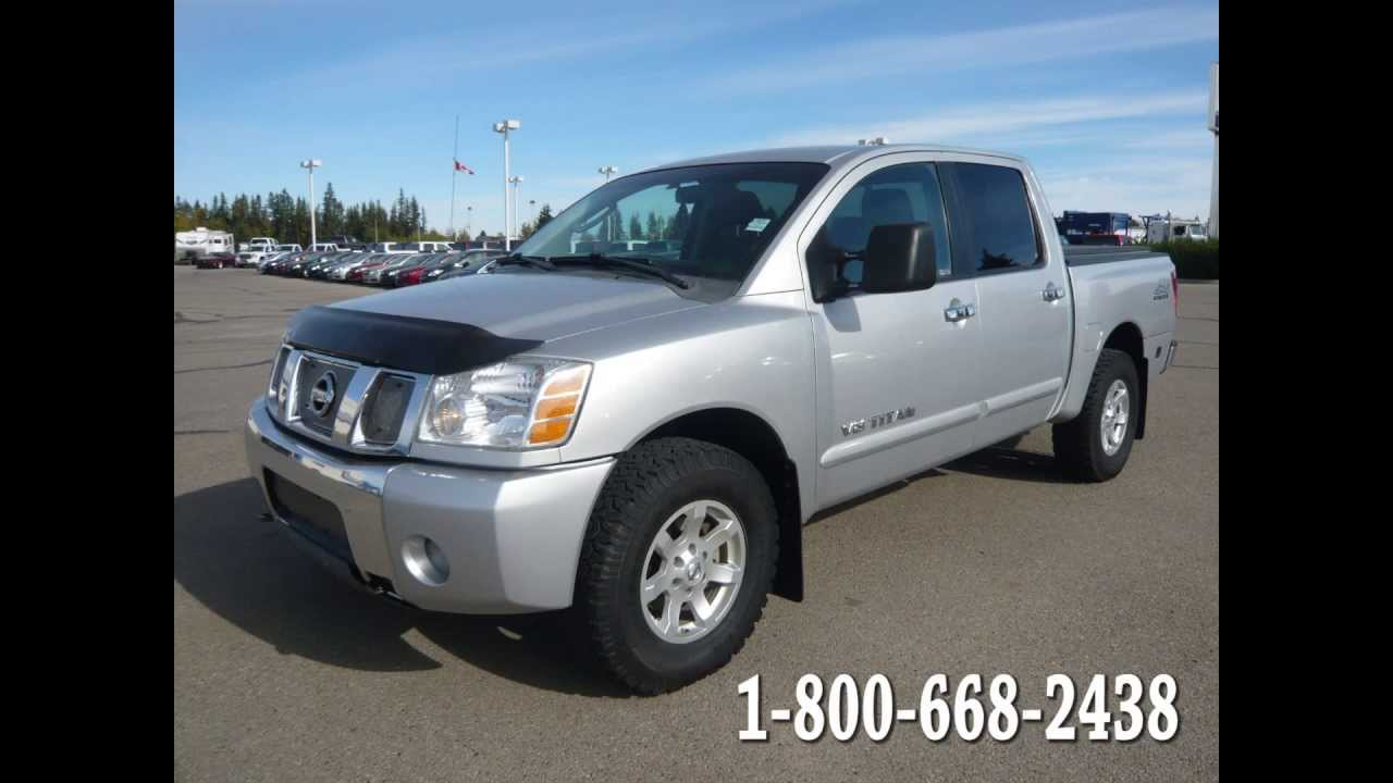 2007 NISSAN TITAN In REVIEW, Red Deer