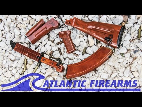 AK47 BakeLite Style Stock Set From Atlantic Firearms