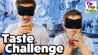 BLIND TASTE CHALLENGE - Eklig oder nicht? | TipTapTube