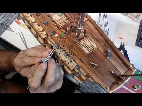 Wooden Model Ship