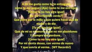 Como Tu No Hay Nadie - Wisin & Yandel Ft. Jayko [Letra]