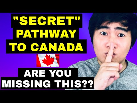 EASY PATHWAY TO CANADA NOT EVERYBODY KNOWS | CANADA IMMIGRATION